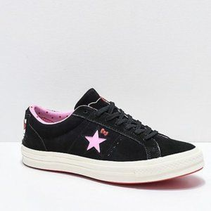 Converse xHello Kitty One Star Skate Shoes Sneaker